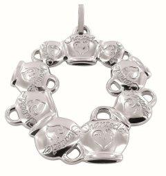 Fermasoldi Chantecler argento