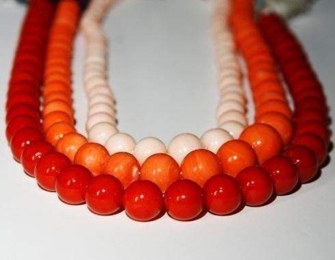 collana coralli