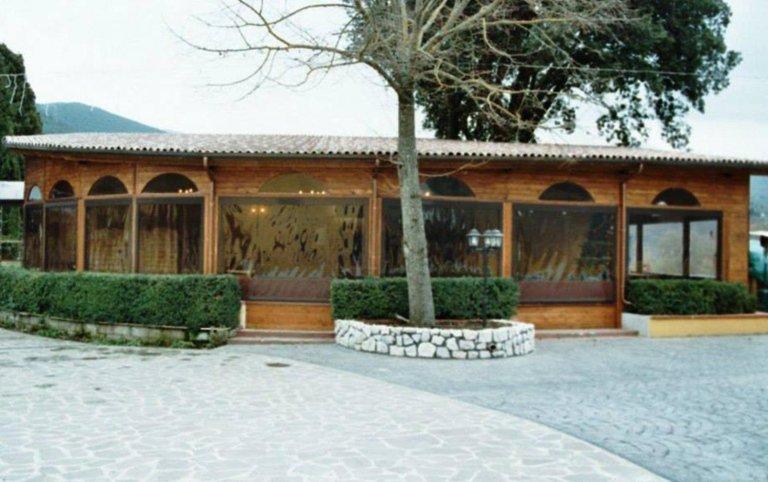 strutture per ristoranti, strutture in legno, cristaltenda, Palombara in Sabina, Roma