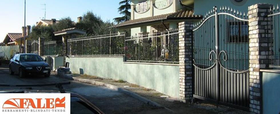 Cancelli, recinzioni, costruzioni in ferro, lavorazioni in ferro battuto, Palombara in Sabina, Roma