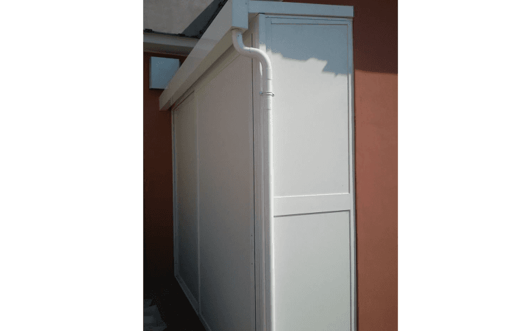 box per caldaie, box in alluminio,  Palombara in Sabina, Roma
