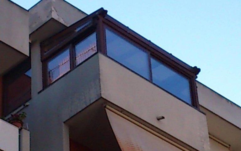 coperture per balconi, coperture, vetro,  Palombara sabina, Roma