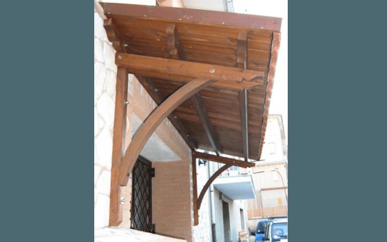 pensilina ad arco, strutture per ristoranti, strutture in legno, cristaltenda, Palombara in Sabina, Roma