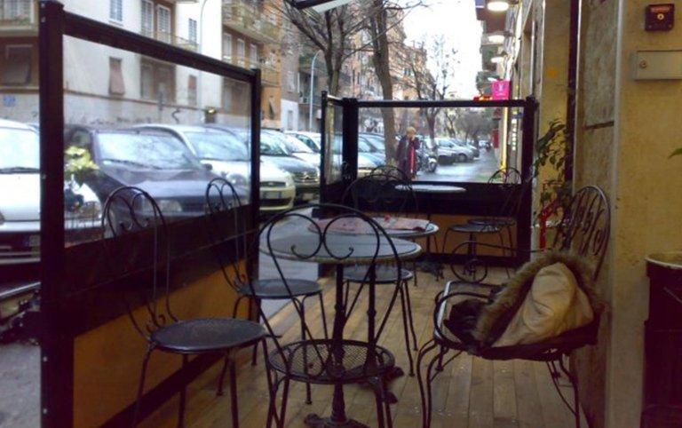 salette esterne, salette per bar, Palombara in sabina, Roma