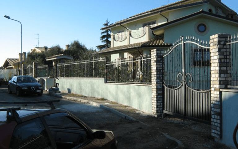 recensioni in ferro, cancello in ferro, porta in ferro, lavorazione ferro, ferro battuto, Palombara in Sabina, Roma