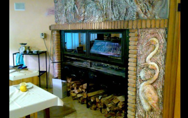 costruzione caminetti, costruzione bracieri, bracieri per ristorante, lavorazione ferro, ferro battuto, Palombara in Sabina, Roma