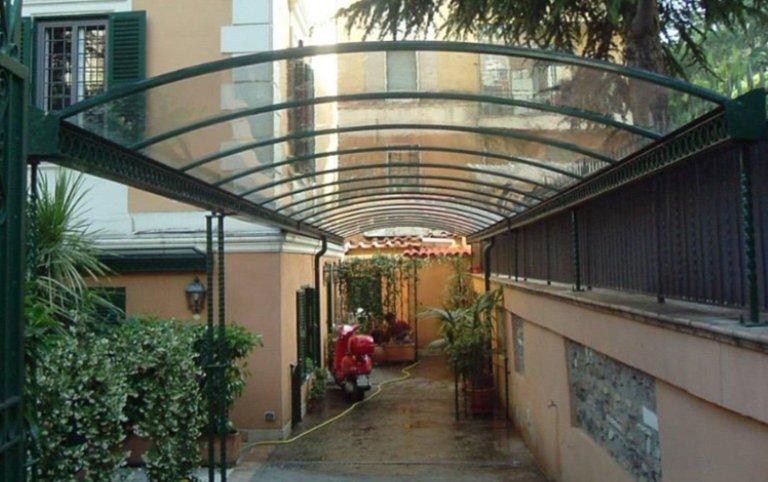 pergolati, pergole, strutture in metallo e vetro, strutture  per locali, Palombara in Sabina, Roma