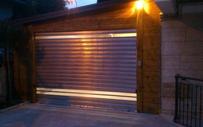 porta garage, serramenti per garage,  Palombara sabina, Roma
