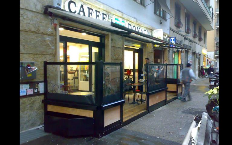 saletta bar, paravento, pedana, Palombara in sabina, Roma
