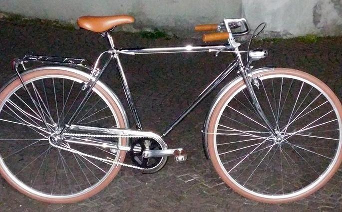 Negozio di biciclette a Milano