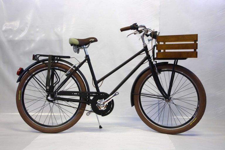 Bicicletta donna modello panettiere con cambio nexus