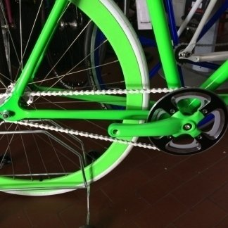 Particolare bici fixed