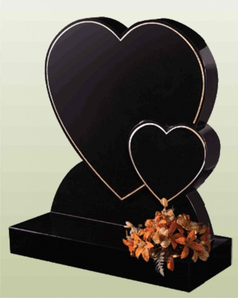 heart shaped memorial