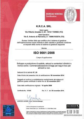 certificazione iso 9001