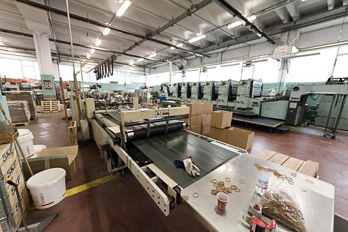 produzione scatole di cartone