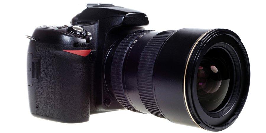 SLR Nikon camera