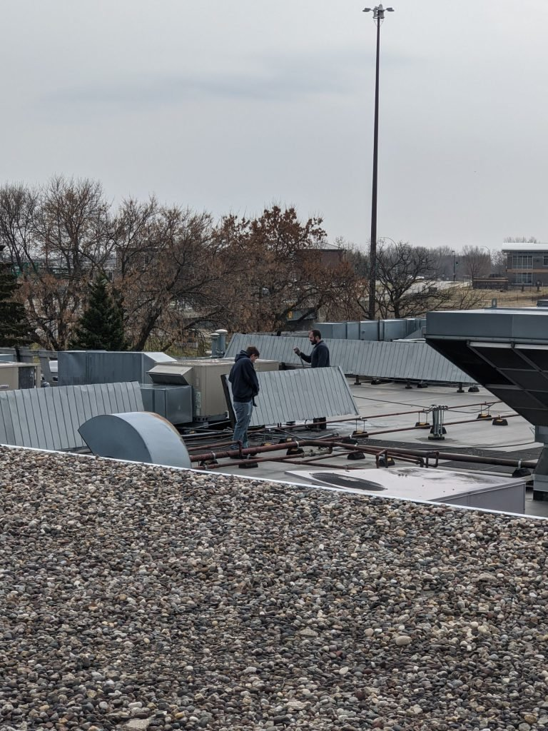 Workers on the Roof — Lakeville, MN — G&B Environmental