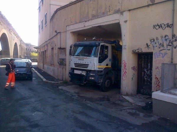 Cantiere Via Tuscolana