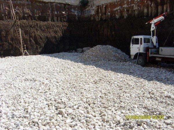 Sbancamento Grotte di Gregna