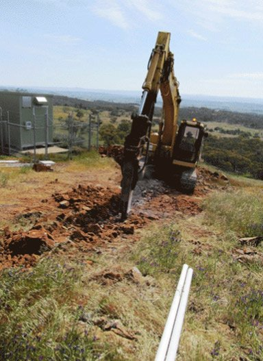 tr civils image of drilling mountain