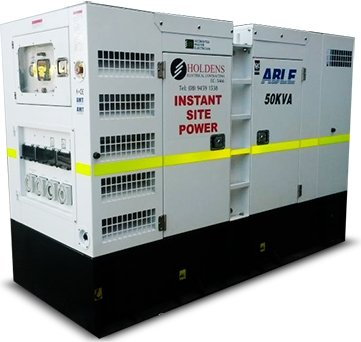 Holdens Electrical Contracting generator hire