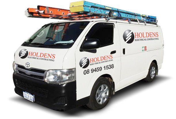 Service van used by our emergency electrician in Perth