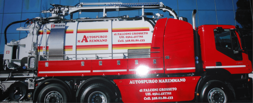 spurgo pozzi furgone