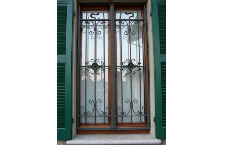 Cancellate e inferriate ferro marnate va creatifer - Cancelli in ferro per porte finestre ...