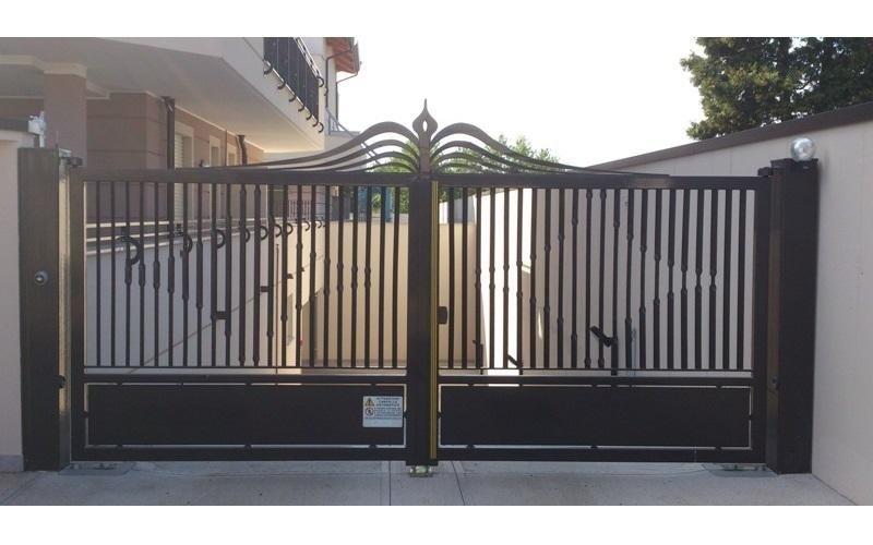 cancello ferro