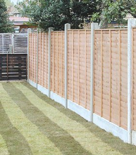 Garden fencing - Lewes, East Sussex - A Martin Garden Services Ltd - Wooden decking