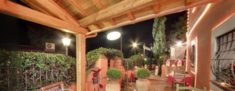 Il casaletto ristorante con giardino