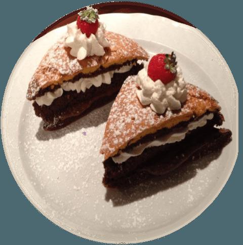cioccolato e panna