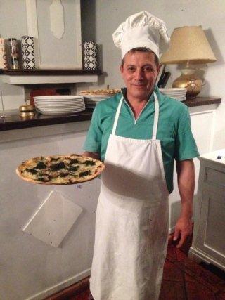 il pizzaiolo Ottaviano