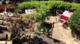 Ristorante con giardino, Roma