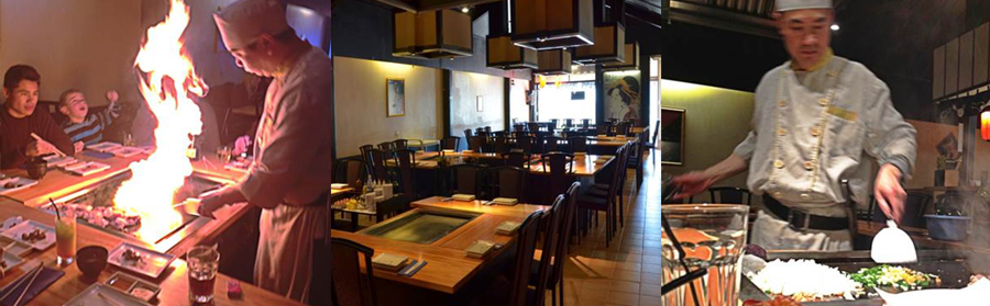 Montage of Teppanyaki restaurant in Lower Hutt