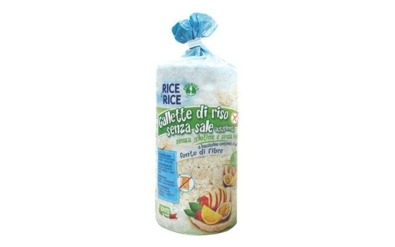 gallette riso senza sale