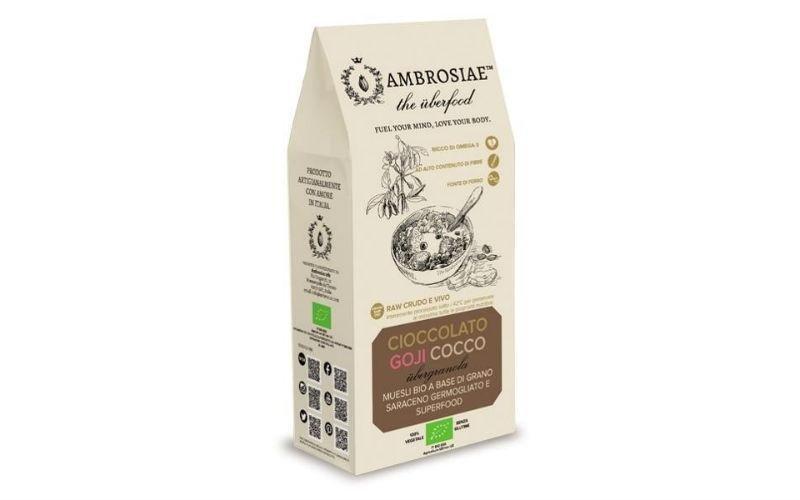 Ubergranola Cioccolato Goji Cocco