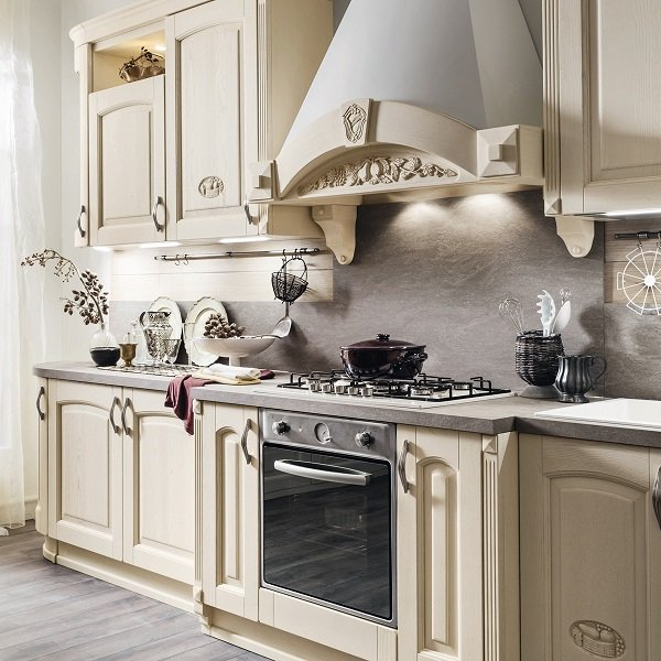 Vista di una cucina moderna a Sommatino