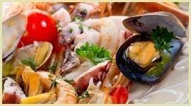specialità pesce Ristorante il Faro Santa Margherita Ligure