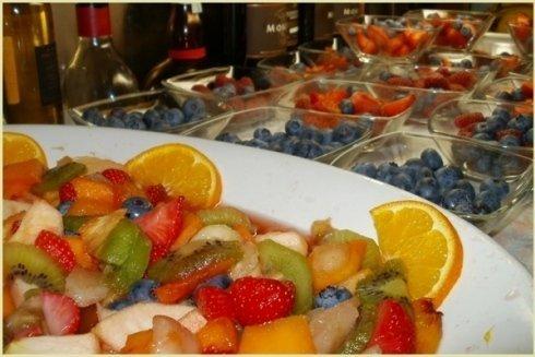 Buffet di frutta fresca Ristorante il Faro Santa Margherita Ligure