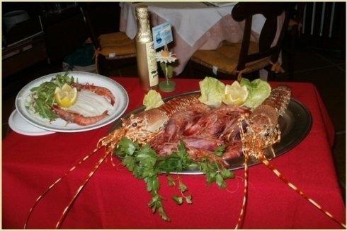 Specialità cucina di mare Ristorante il Faro Santa Margherita Ligure