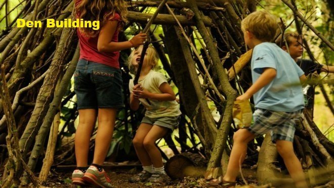 4. Build a den -   Build the best den ever with our tips and tricks. You can also come along to one of our special den building events to get even more hands-on.
