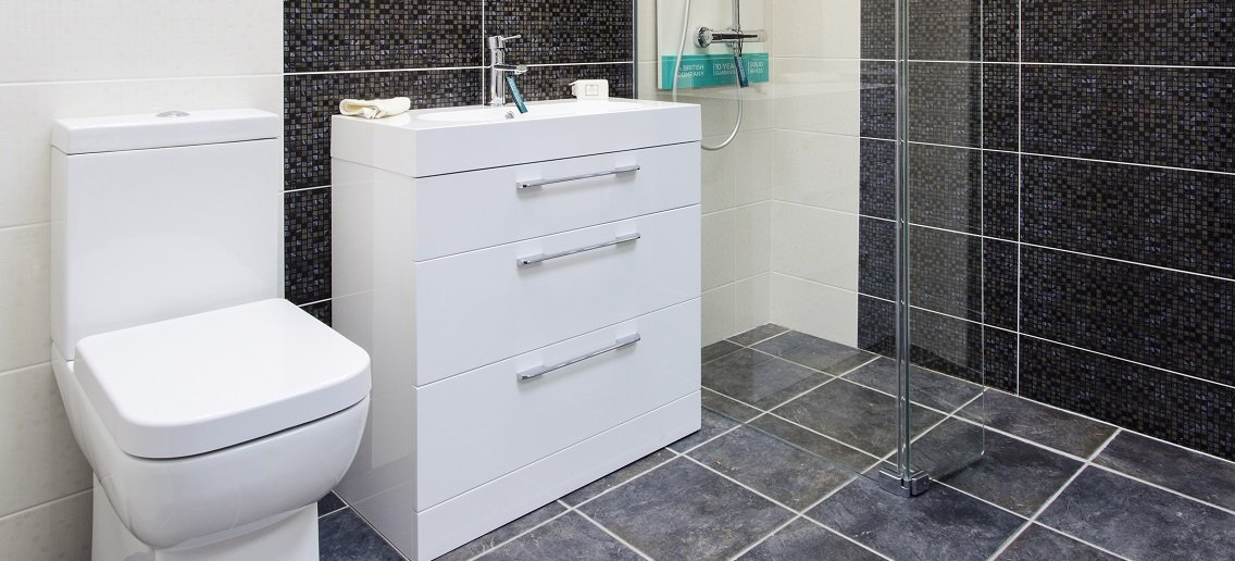 sink unit and toilet