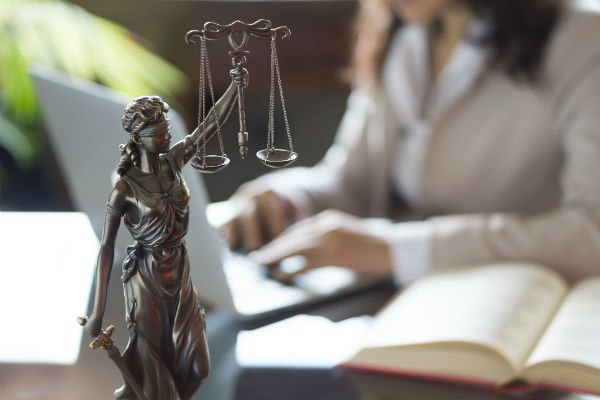 Legal law, advice and justice concept