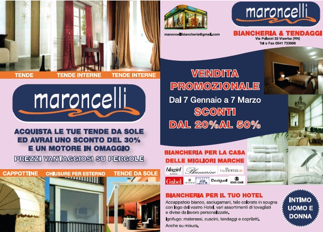MARONCELLI  Tende e tendaggi Rimini (RN)