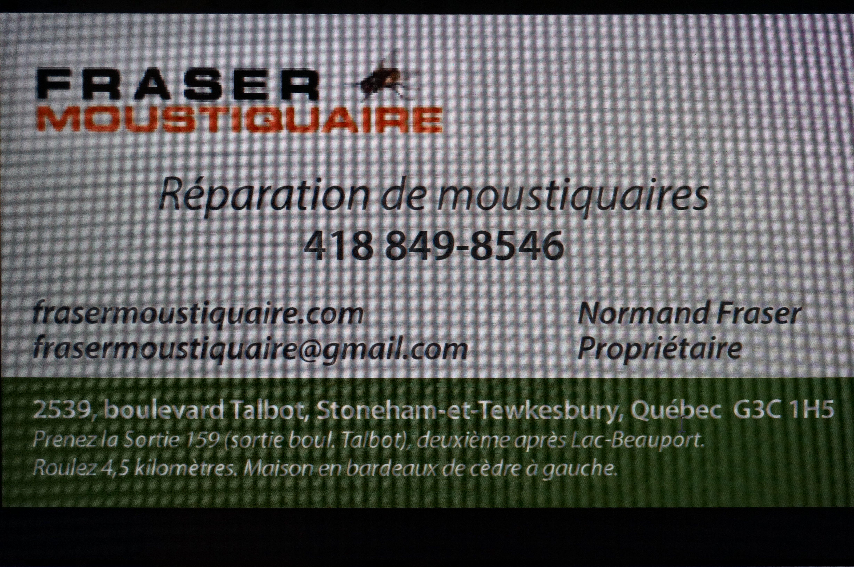 Réparation Moustiquaire Porte Patio Quebec