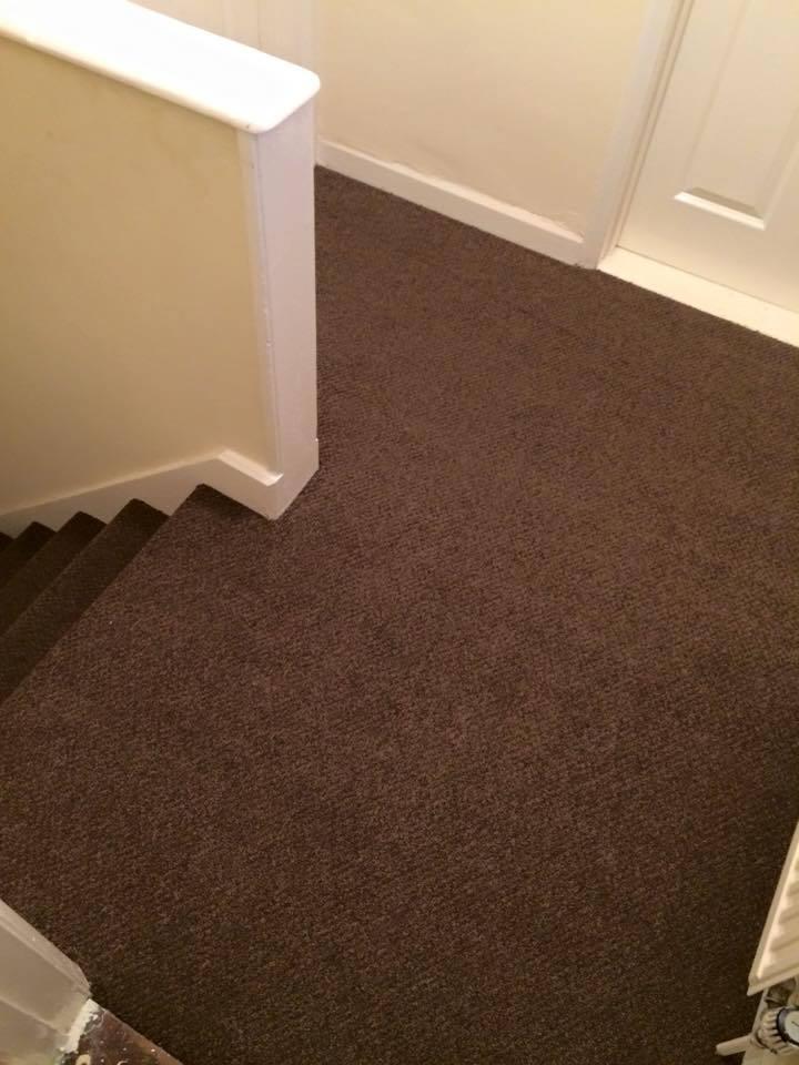 brown coloured carpet