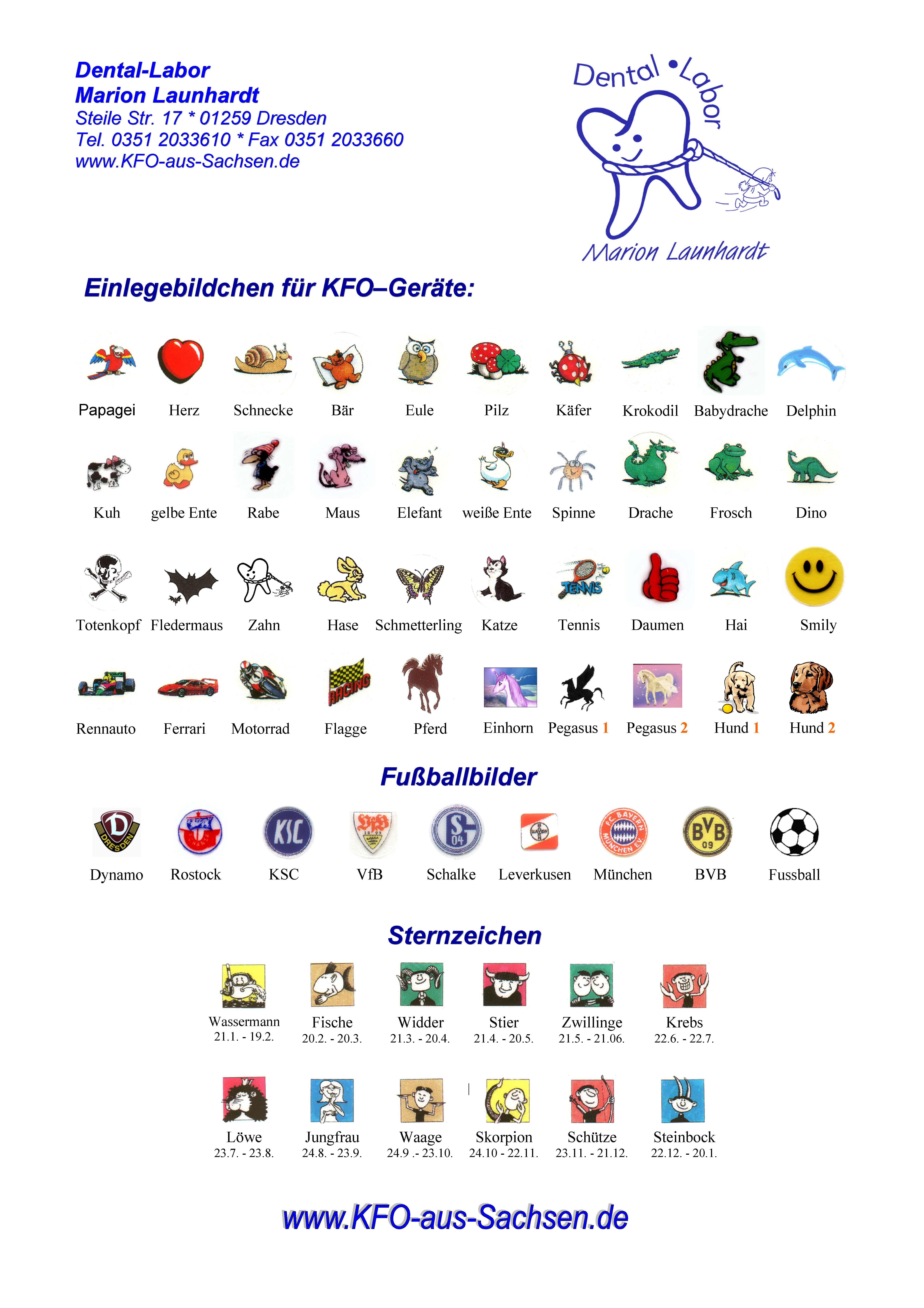 Einlegebildchen für Zahnspangen, Einlegemotive, Spangenbilder, Einlegebild, KFO Bild, Fußballbild, Fussballbild