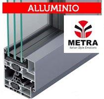 guida in alluminio metra