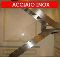 scale e ringhiere in acciaio inox
